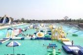สวนน้ำ Slip&slide water park